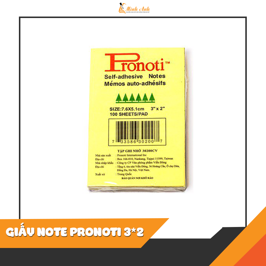 Giấy note Pronoti 2*3