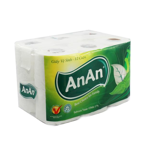 Giấy vệ sinh An An | Bách Hóa văn phòng | vppminhanh.vn